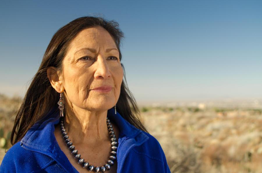 Joe Biden nominates Deb Haaland, a Native American, as Interior Department secretary